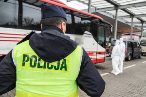 Policja: 400 przypadków naruszeń kwarantanny; poza tym sporadyczne większe zgromadzenia