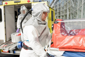 Limanowa: nieprzyjęty przez SOR pacjent, który później zmarł, był chory na COVID-19