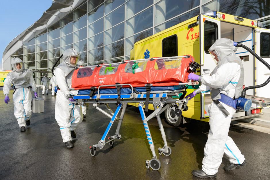 Lublin: szpital tymczasowy ma być gotowy na koniec listopada