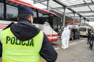 Straż Graniczna tylko 28 marca skontrolowała 20,5 tys. osób wjeżdżających do Polski