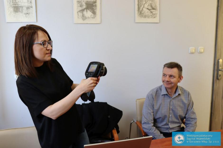 Gorzów Wlkp.: temperaturę wchodzących do szpitala zbada kamera termowizyjna