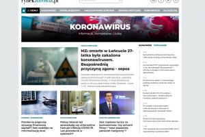 Serwis Rynku Zdrowia: koronawirus - informacje, analizy, komentarze, liczby