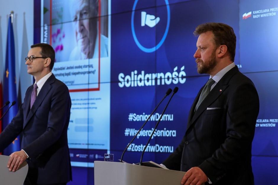 Rząd: wprowadzamy w Polsce stan epidemii, będzie zdalna kontrola kwarantanny