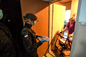 Podkarpackie: żołnierze WOT wspierają Wojewódzką Stację Sanitarno-Epidemiologiczną