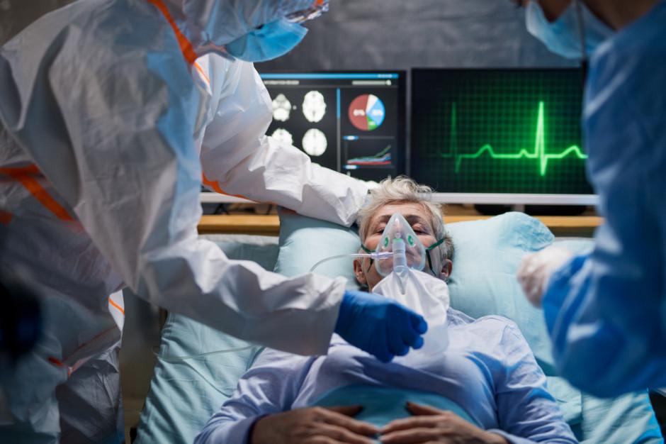 MZ: zajętych ponad 4,1 tys. łóżek covidowych i blisko 300 respiratorów