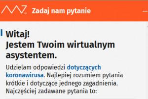 MZ: wirtualny asystent odpowie na pytania w sprawie koronawirusa