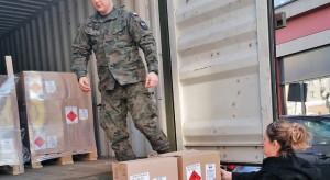 Szef MON: brygady logistyczne dostarczają sprzęt medyczny do szpitali zakaźnych