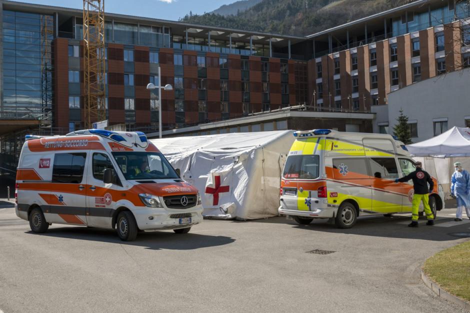 Włochy: tam wg informacji z soboty 72 kolejne ofiary śmiertelne koronawirusa, 270 nowych zakażeń