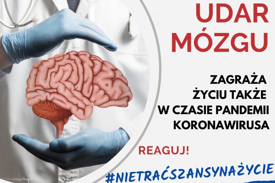 Prof. Karaszewski: nie zwlekajmy, w razie udaru wzywajmy pomoc natychmiast