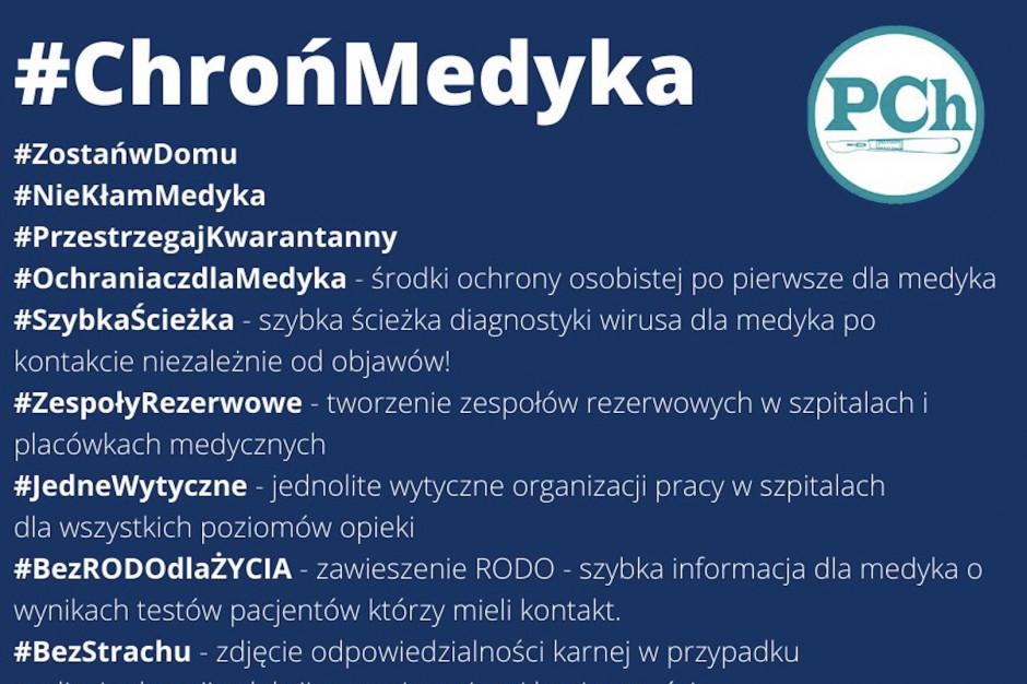 Porozumienie Chirurgów: 24 lekarzy na Mazowszu z koronawirusem, apelujemy o testy!