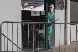 Lubuskie: trzej pracownicy szpitala w Ciborzu z koronawirusem