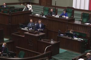 Sejm obradował nad  kolejnymi pomysłami ratowania gospodarki przed koronawirusem