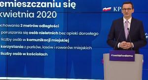 Morawiecki: nasza strategia działa, przedłużamy restrykcje o kolejne tygodnie walki z COVID-19