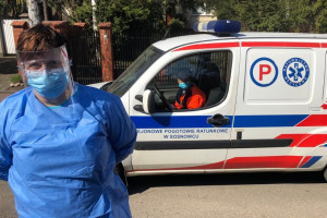 Piotrków Trybunalski: rusza samochodowy punkt pobierania wymazów