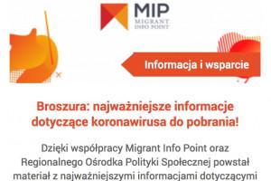 Poznań: informator o koronawirusie dla obcokrajowców jest dostępny na stronie...