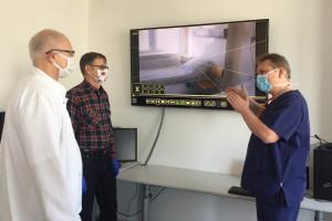 W klinice WUM testowany jest telemonitoring. Pomoże w opiece nad chorymi z koronawirusem