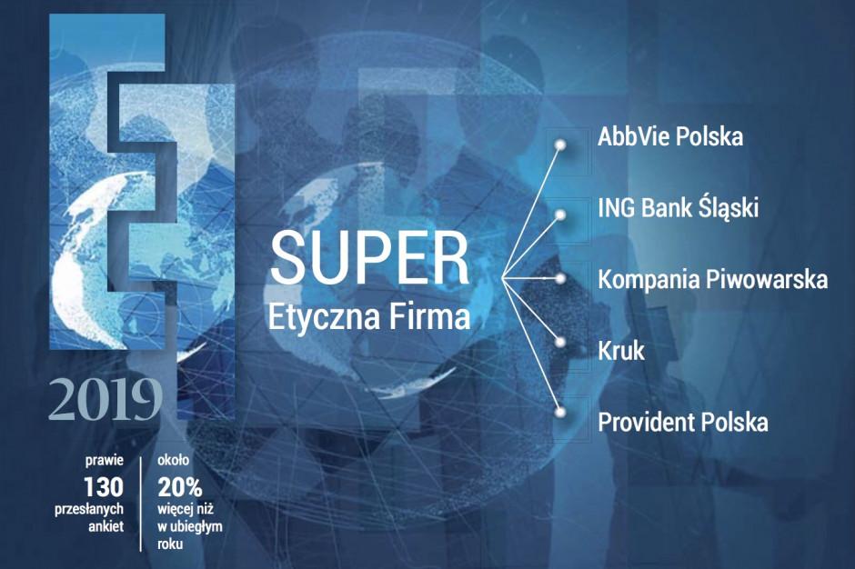 AbbVie Polska jednym z laureatów wyróżnienia SuperEtyczna Firma