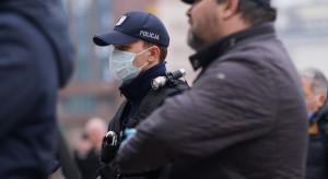Warszawa: zakończył się protest przeciwników obostrzeń wprowadzonych w pandemii