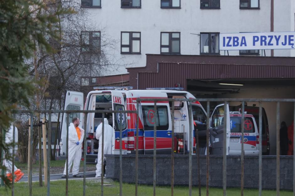 Katowice: Okręgowy Szpital Kolejowy wstrzymał przyjęcia w związku z zakażeniem