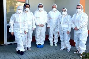 Śląskie: serafitki pomagają w ośrodku w Czernichowie, gdzie 20 pacjentów ma koronawirusa