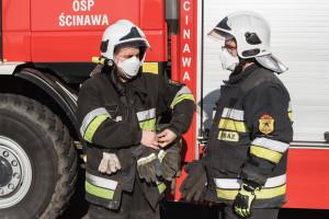 Zakażony koronawirusem strażak z Krotoszyna wyzdrowiał i wraca do służby