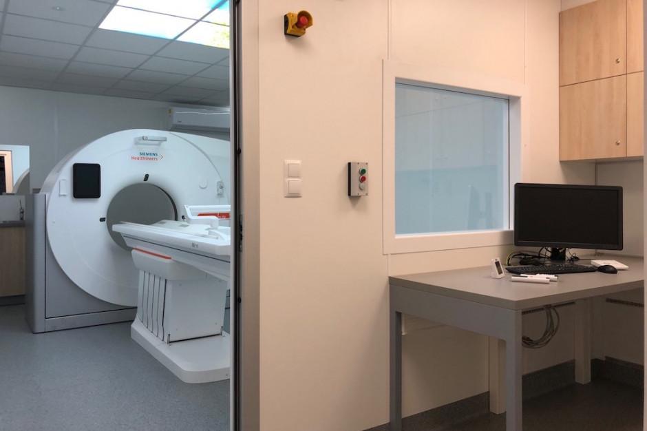 W jednoimiennych szpitalach zakaźnych ruszają kontenerowe pracownie tomograficzne