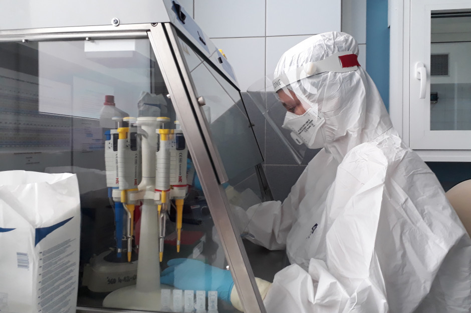 MZ: ponad 22 tys. testów na obecność koronawirusa w ciągu doby