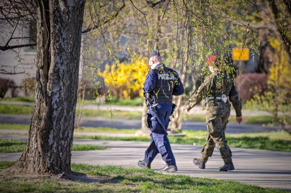 Szef MON: około 10 tysięcy żołnierzy pomaga administracji cywilnej w związku z pandemią