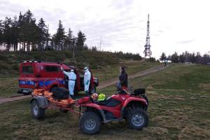 Śląskie: GOPR pomogło turyście z podejrzeniem Covid-19