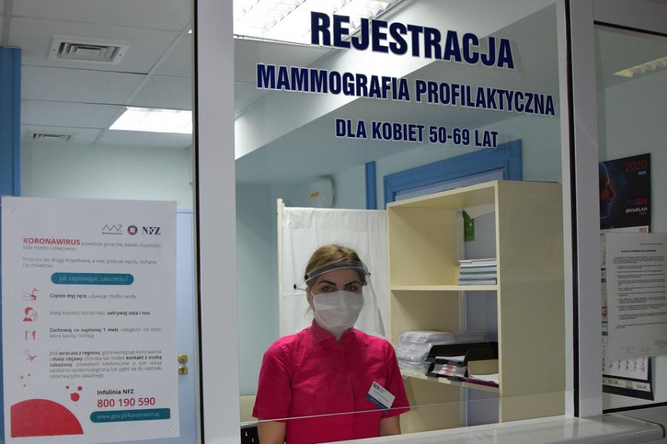 Kielce: centrum onkologii wznawia profilaktyczne mammografię i cytologię