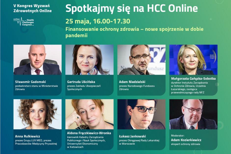 HCC Online: sesja o wpływie pandemii na finansowanie ochrony zdrowia