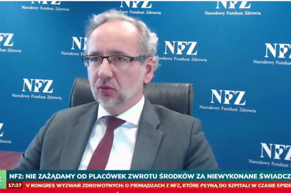 Prezes NFZ: wyniki obligatoryjnych testów kuracjuszy przeczą tezom o większej skali COVID-19