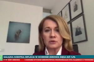 Dr Małgorzata Gałązka-Sobotka na sesji HCC Online; FOT. PTWP
