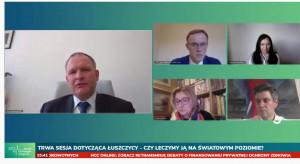 HCC Online: retransmisja zdalnej debaty o leczeniu łuszczycy w Polsce i innych krajach