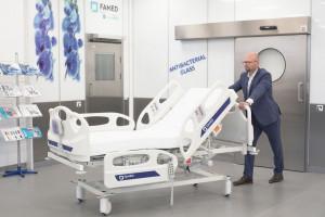 Żywiecki Famed uruchomił nową linię produkcyjną łóżek szpitalnych