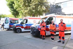 Opolskie ma trzy nowoczesne karetki bariatryczne za 6 mln zł