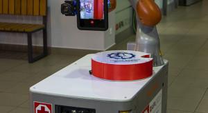 Politechnika Śląska zaprezentowała robota asystującego dla szpitali zakaźnych