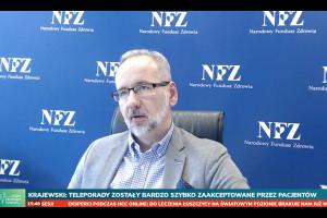 Prezes NFZ na HCC Online: POZ miał najmniejszy wskaźnik redukcji świadczeń podczas pandemii