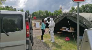 MON: żołnierze obsługują już 222 punkty pobierania próbek do testów na koronawirusa
