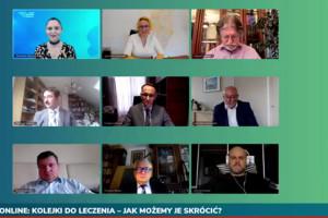 HCC Online: zobacz retransmisję zdalnej debaty o kolejkach do leczenia