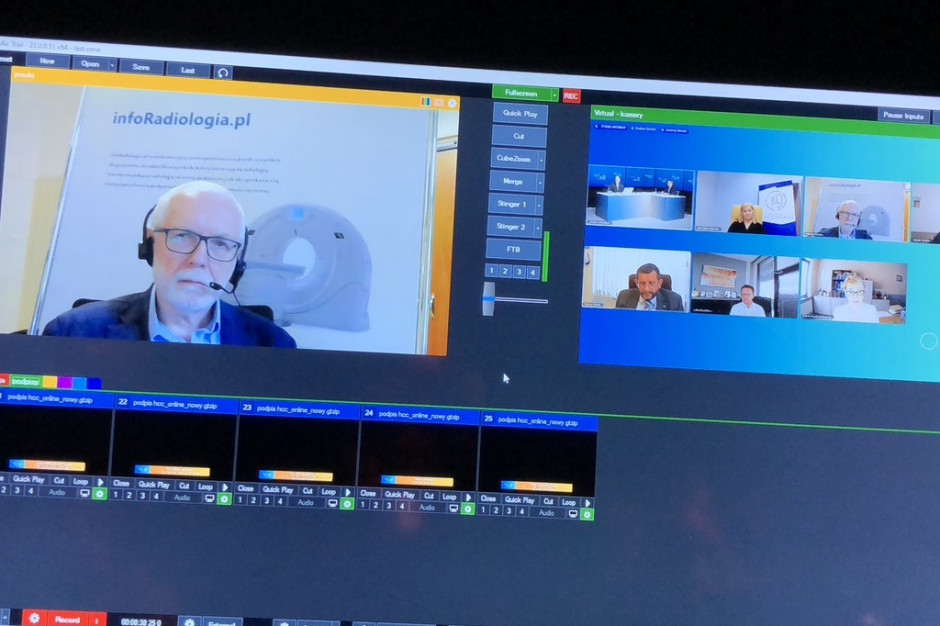 Prof. Urbanik na HCC Online: jakość diagnostyki obrazowej zależy także od lekarza kierującego