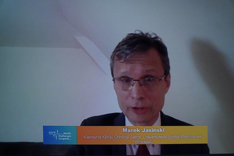 Prof. Jasiński na HCC Online o bezpieczeństwie prawnym lekarzy: potrzebne zobiektywizowane wyniki