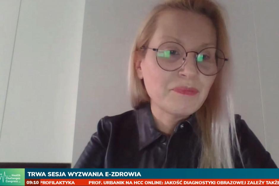 Agnieszka Kister na HCC Online: informatyzacja ochrony zdrowia nieuchronnie przyspiesza