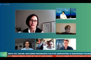 HCC Online: eksperci o programach polityki zdrowotnej