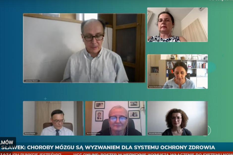 Prof. Sławek na HCC Online: państwo powinno mieć strategię dla neurologii