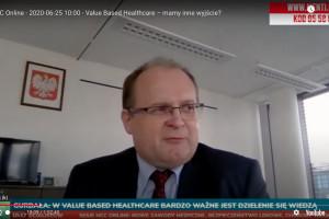 Prezes AOTMiT podczas HCC Online: budując medycynę opartą na wartościach musimy mieć dane