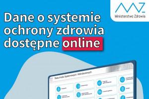 Ministerstwo Zdrowia: dane o systemie ochrony zdrowia dostępne online