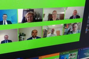 HCC Online: podczas sesji dotyczącej immunoterapii; FOT. PTWP