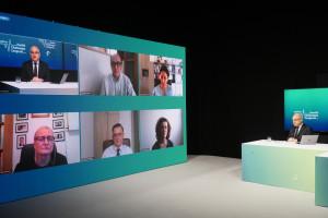 Sesja neurologiczna podczas HCC Online; FOT. PTWP