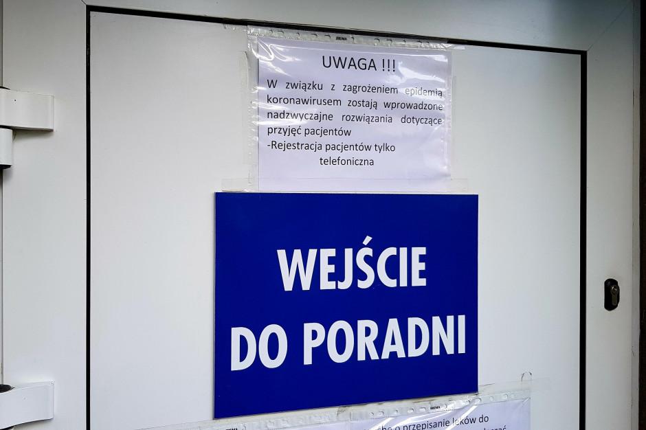 Kujawsko-Pomorskie: pacjenci skarżą się na funkcjonowanie POZ w czasie pandemii